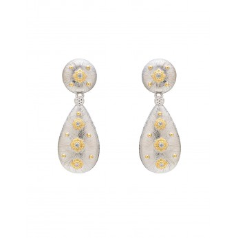 Silver Luxe Earrings