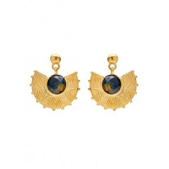 Golden Glow Earrings