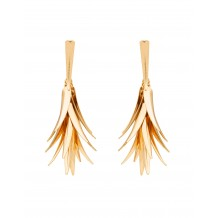 Golden Feathers Earrings
