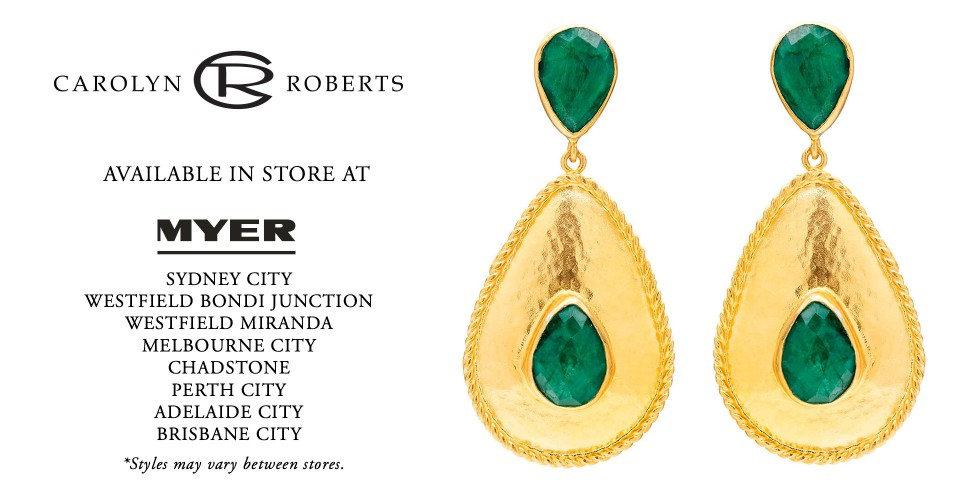 Carolyn Roberts Designer Jewellery Available in Myer