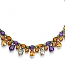 Magnificent Semi Precious Gemstone Collar