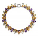 Magnificent Semi Precious Gemstone Collar